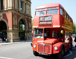 Routemaster number 9 bus