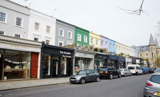 The shopping offered by Westbourne Grove